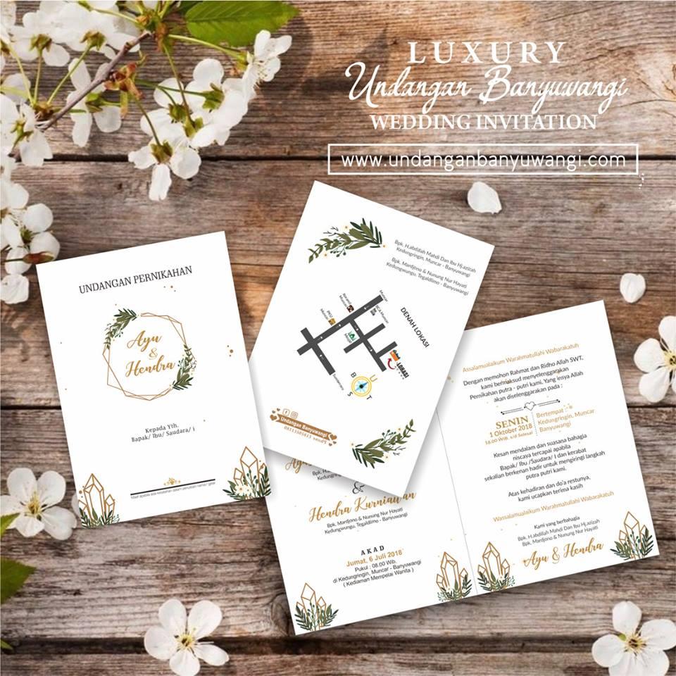 Undangan Pernikahan Custom SoftCover